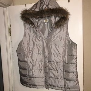 Talbots Woman 2X Sleeveless Puff Jacket